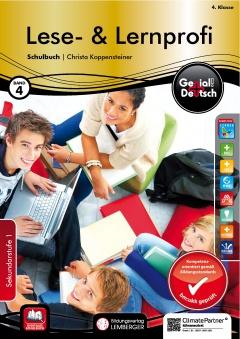 Genial! Deutsch 4 - Lese- und Lernprofi: Schulbuch