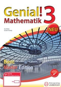 Genial! Mathematik 3 - Übungsbuch Basic + Master Edition