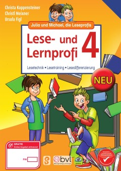 Lese- und Lernprofi 4 - Schulbuch